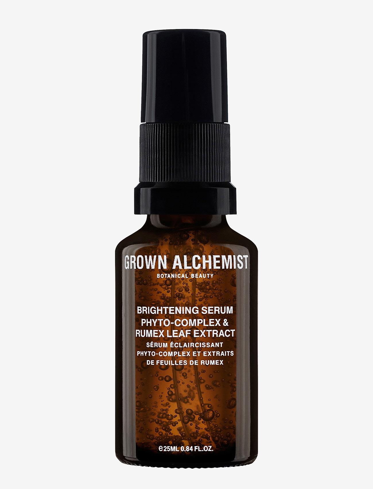 Grown Alchemist - Brightening Serum: Phyto-Complex & Rumex Leaf Extract - serum - clear - 0