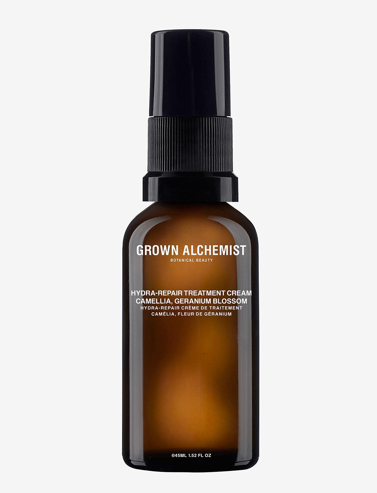 Grown Alchemist - Hydra-Repair Treatment Cream: Camellia, Geranium Blossom - dagkrem - clear - 0