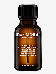 Grown Alchemist - Cuticle Oil: Hypericum Extract, Neem, Borage - neglepleje - clear - 0