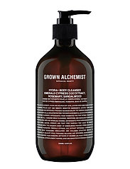 Grown Alchemist Hydra+ Body Cleanser: Emerald Cypress Co2 Extract, Rosemary, - CLEAR