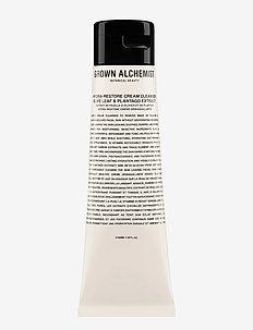 Hydra-Restore Cream Cleanser: Olive Leaf & Plantago Extract - rensemelk - white