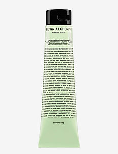 Purifying Body Exfoliant: Pearl, Peppermint & Ylang Ylang - bad & dusj - white