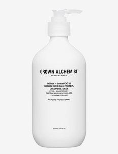 Detox - Shampoo 0.1: Hydrolyzed Silk  Lycopene, Sage - CLEAR