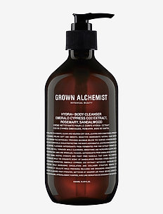 Hydra+ Body Cleanser: Emerald Cypress Co2 Extract, Rosemary, - CLEAR