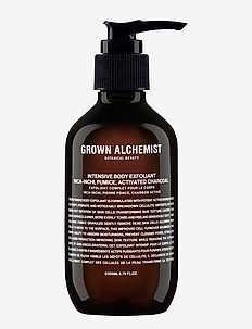Intensive Body Exfoliant Inca-Inchi, Pumice, Activated Charc - CLEAR
