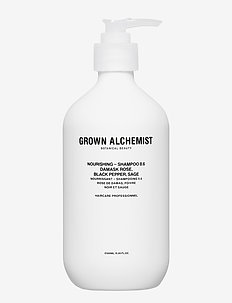 Nourishing - Shampoo 0.6 : Damask Rose, Black Pepper, Sage - CLEAR