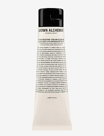 Hydra-Restore Cream Cleanser: Olive Leaf & Plantago Extract - rensemælk - white