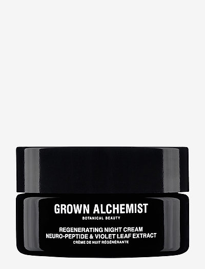 Regenerating Night Cream: Neuro-Peptide & Violet Leaf Extrac - kosteusvoiteet - clear