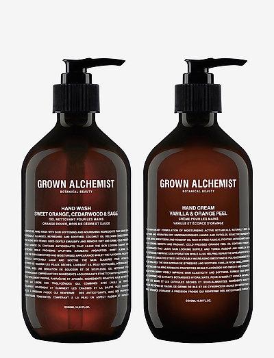 Hand Wash & Hand Cream Twin Set (Hand wash 500ml. & Hand cre - CLEAR