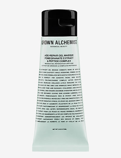 Age-Repair Gel Masque: Pomegranate Extract & Peptide Complex - kasvonaamiot - clear