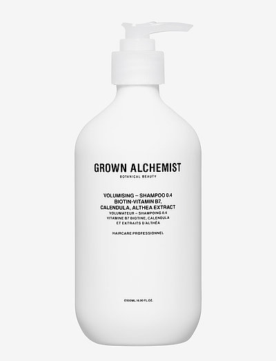 Volumising - Shampoo 0.4: Biotin-Vitamin B7, Calendula, Alth - shampo - clear