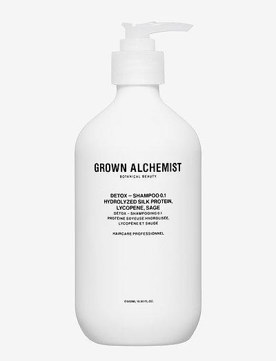 Detox - Shampoo 0.1: Hydrolyzed Silk  Lycopene, Sage - shampoo - clear