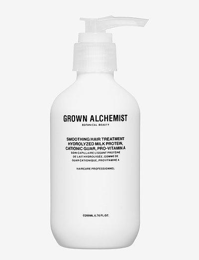 Smoothing Hair Treatment: Hydrolyzed Milk Protein, Cationic  - hårkur - clear