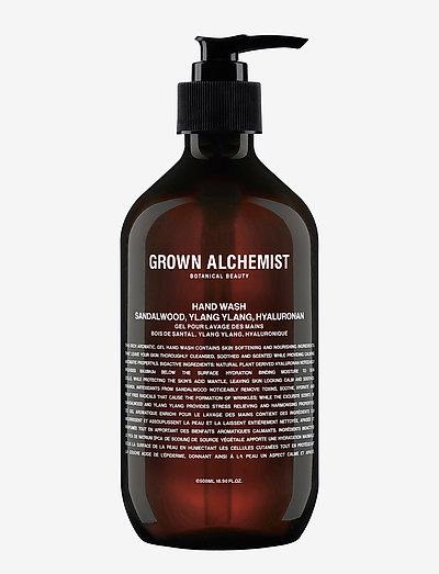Hand Wash – Sandalwood, Ylang Ylang, Hyaluronan - CLEAR
