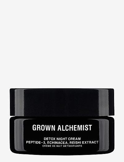 Detox Facial Night Cream - fugtpleje - clear