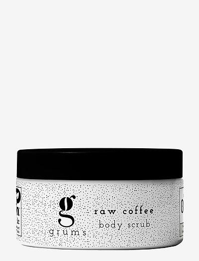 raw coffee body scrub - NO COLOUR