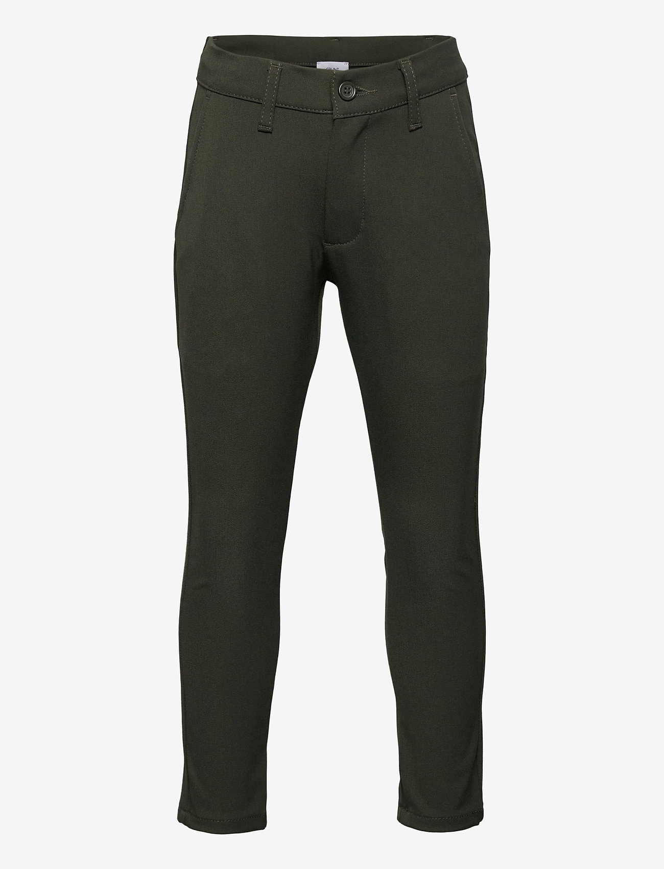 Grunt - Dude Ankle Pant - trousers - army - 0