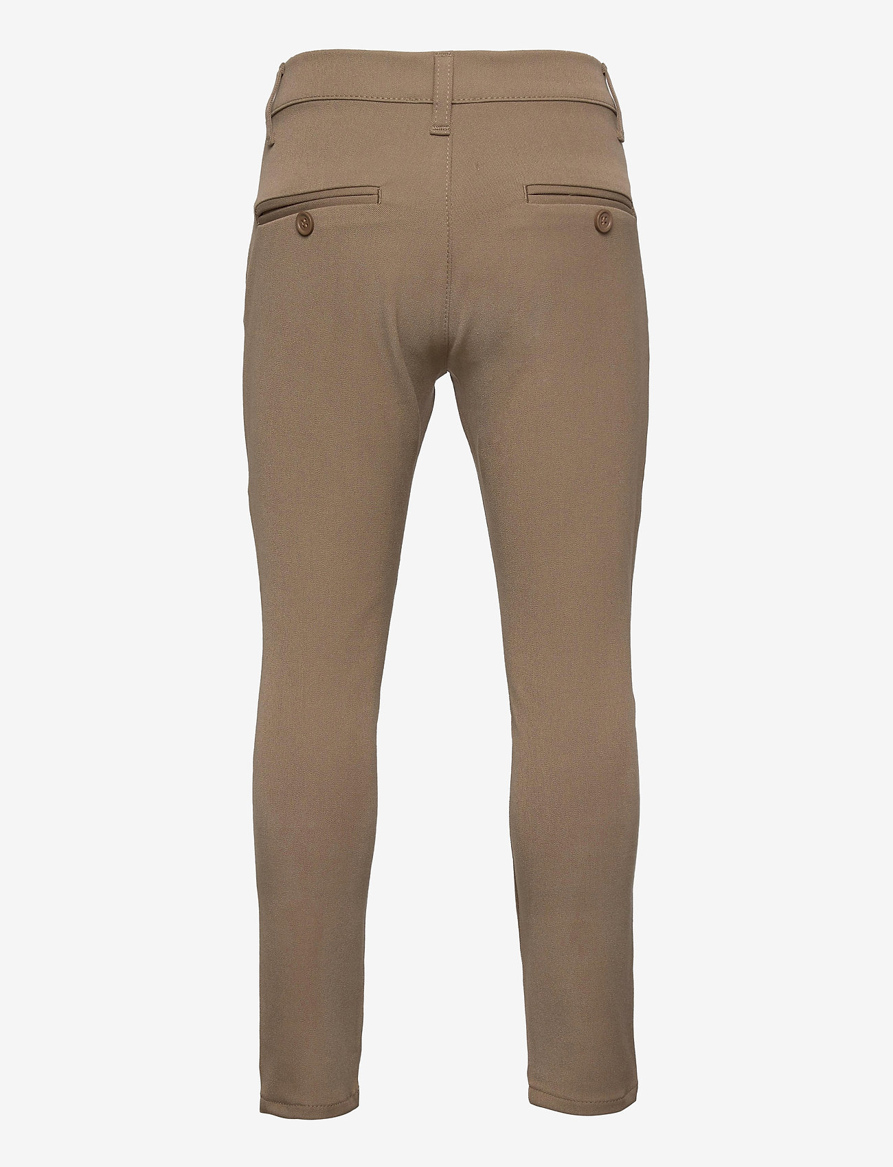Grunt - Dude Ankle Pant - trousers - beige - 1