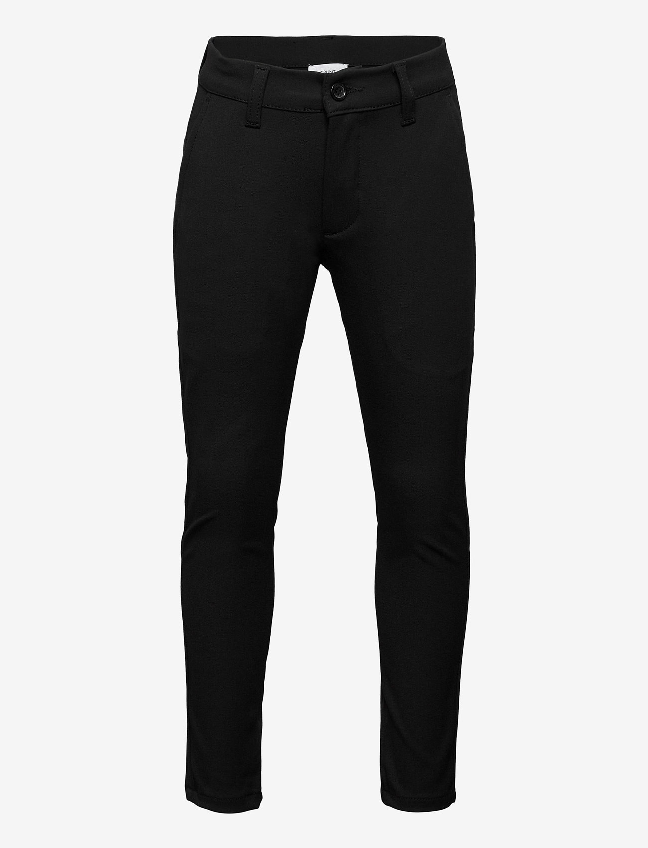 Grunt - Dude Ankle Pant - trousers - black - 0