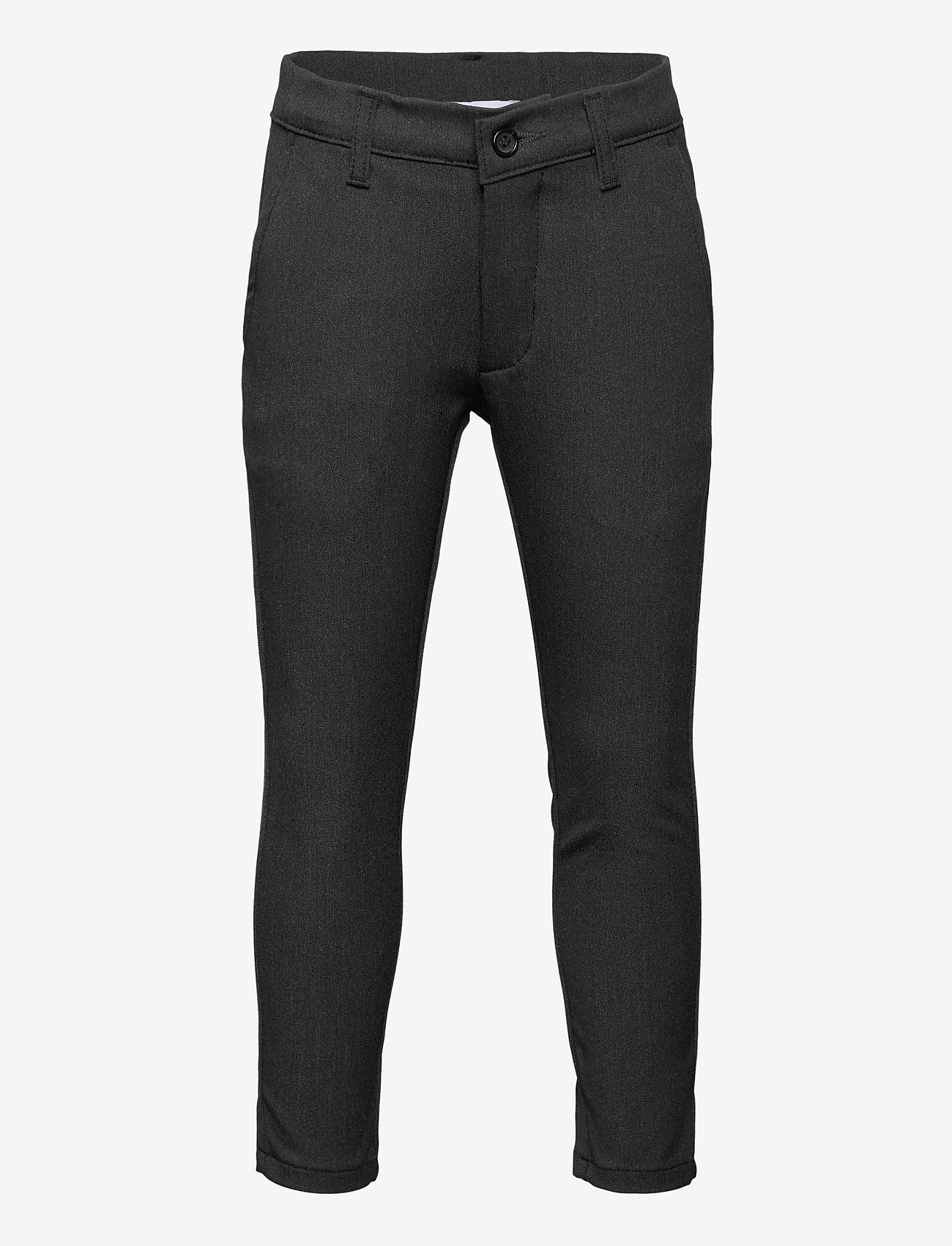 Grunt - Dude Ankle Pant - trousers - grey - 0