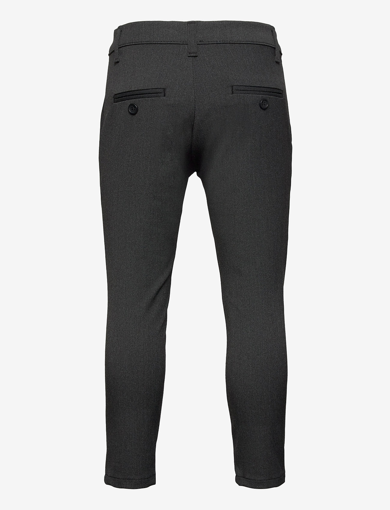 Grunt - Dude Ankle Pant - trousers - grey - 1