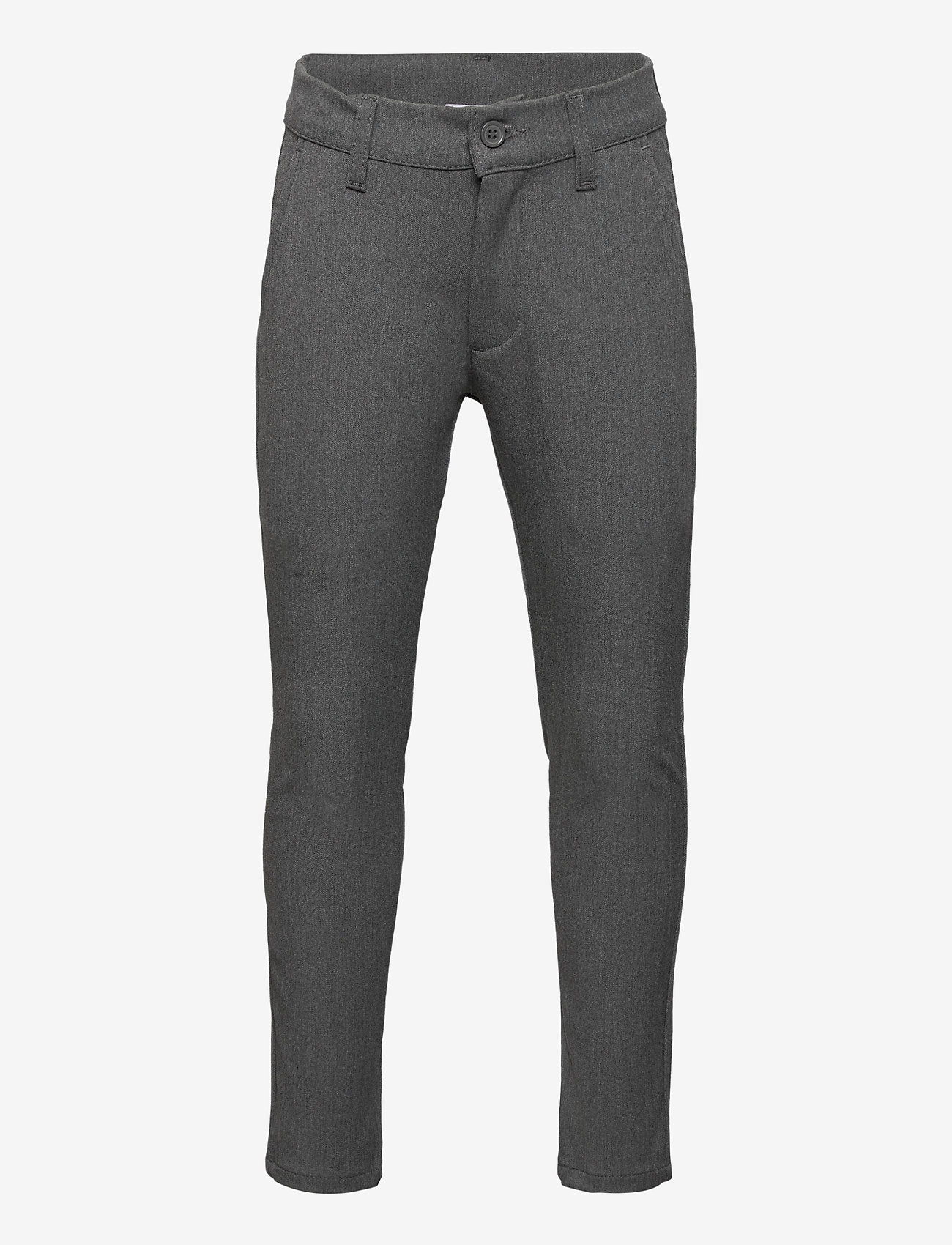 Grunt - Dude Ankle Pant - trousers - light grey - 0