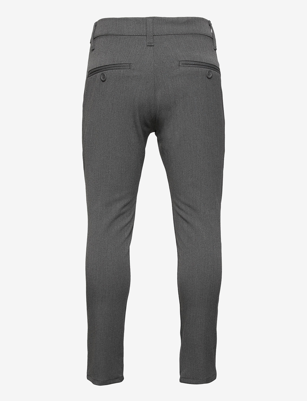 Grunt - Dude Ankle Pant - trousers - light grey - 1