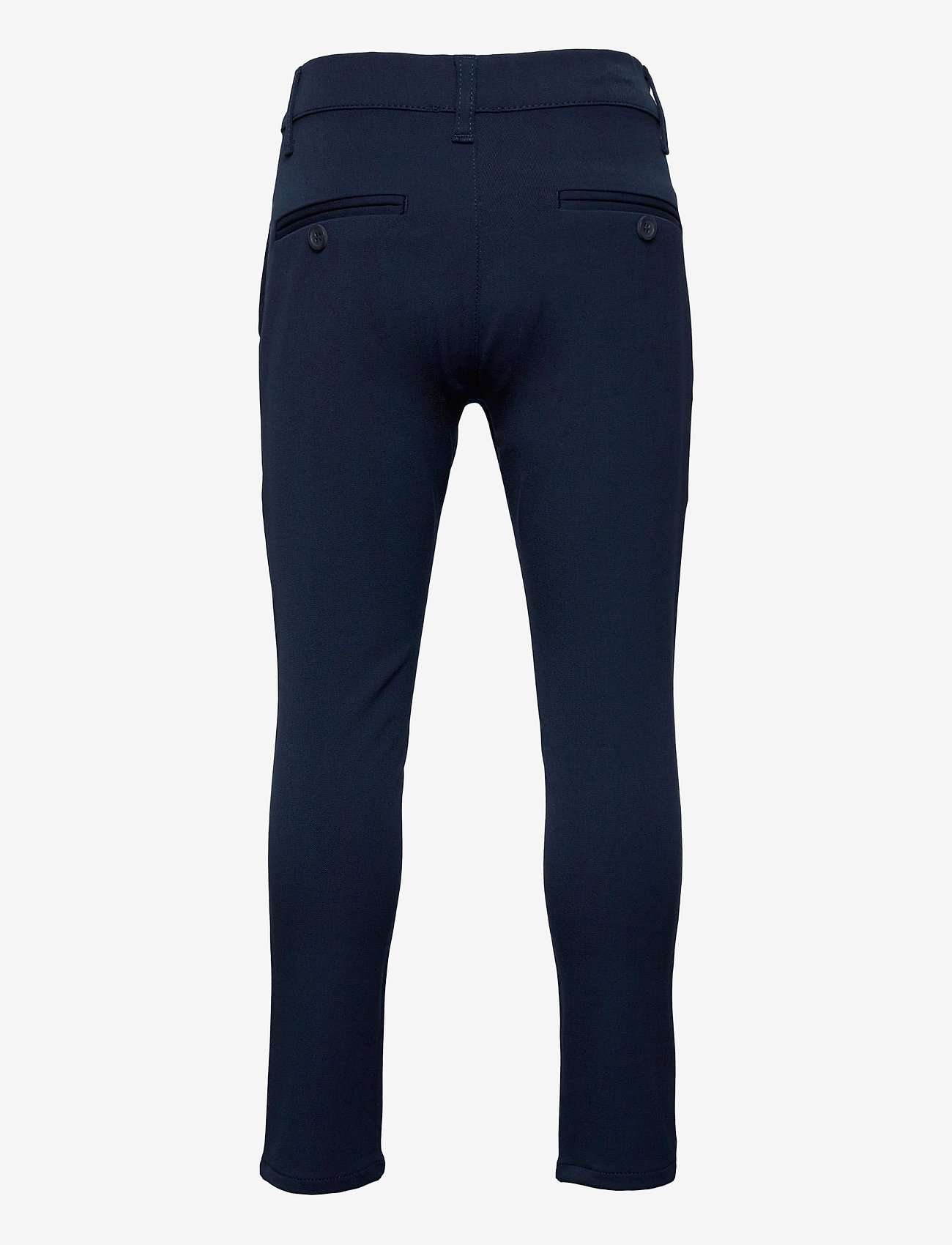 Grunt - Dude Ankle Pant - trousers - midnight blue - 1