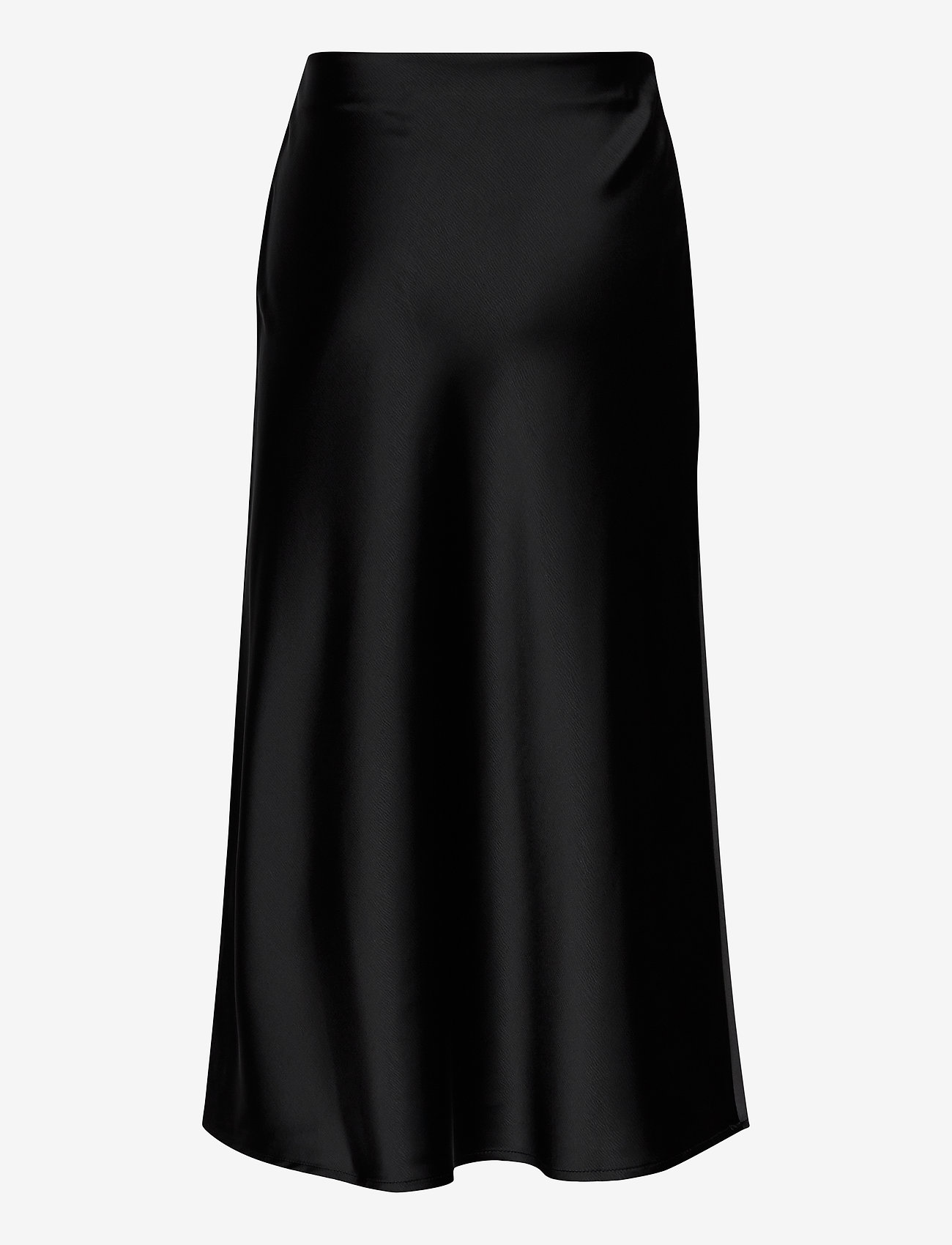 Grunt - Didem Satin Skirt - spódnice - black - 1
