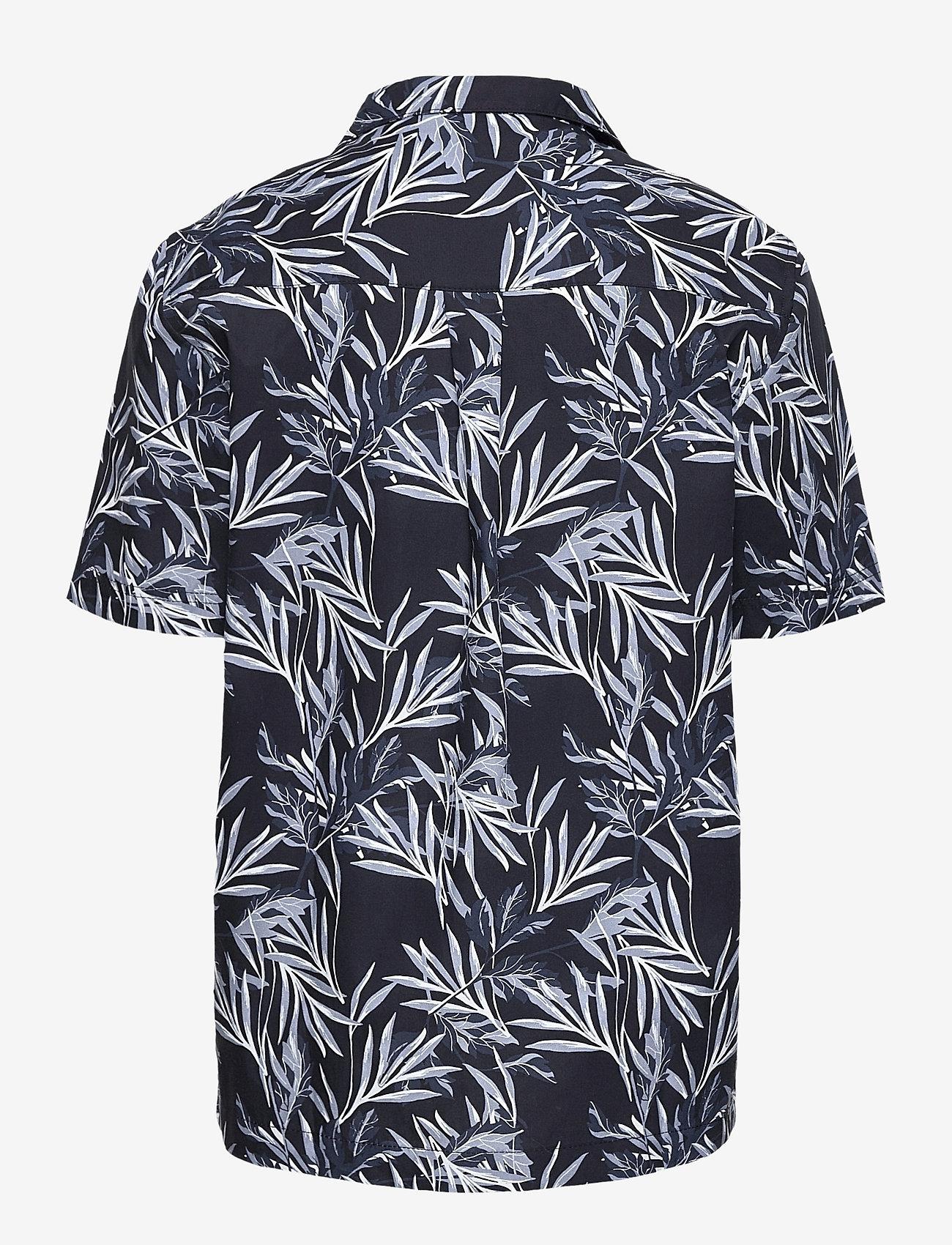 Grunt - Nate S/S Shirt - overhemden - black - 1
