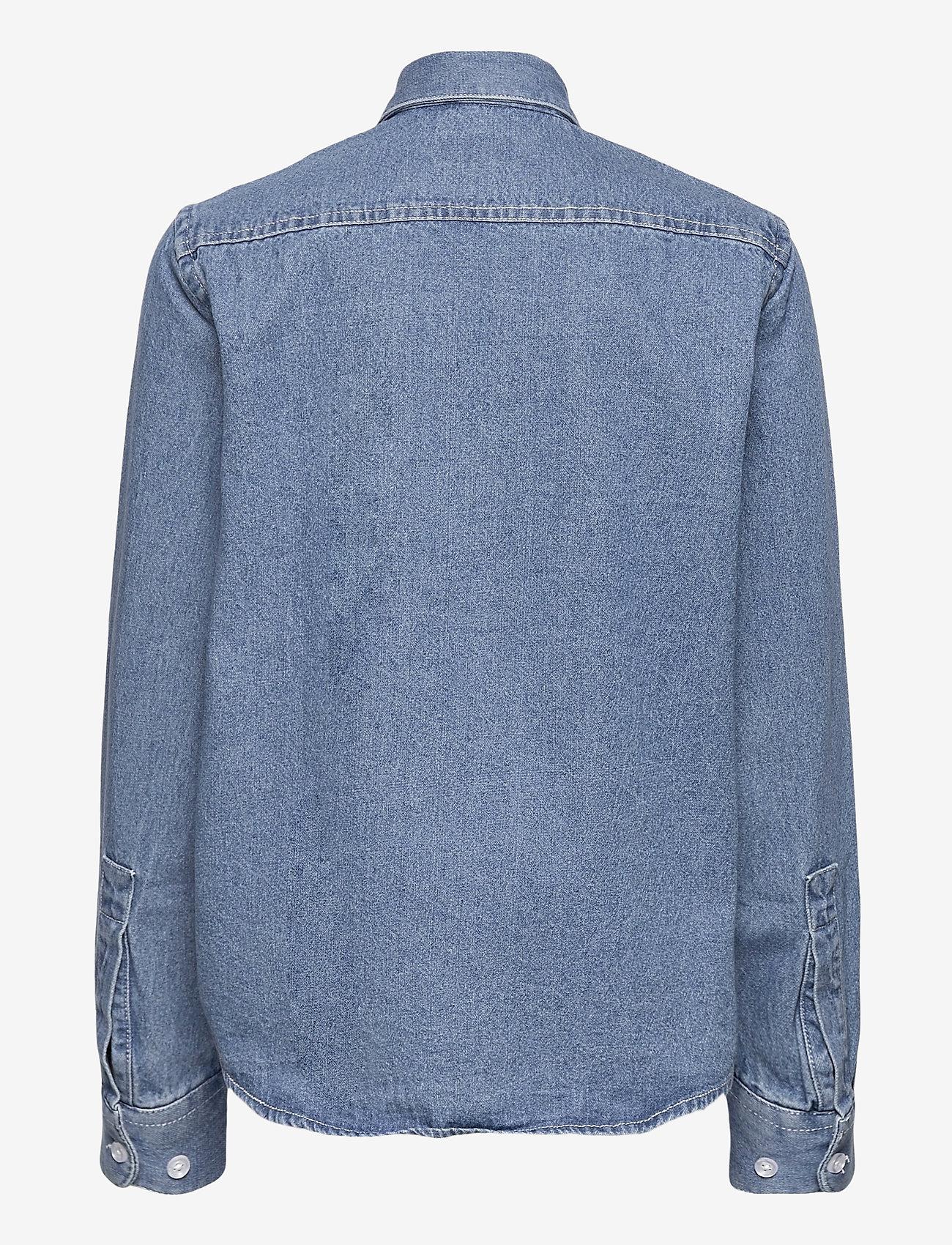 Grunt - Nicki Denim Shirt - overhemden - blue - 1