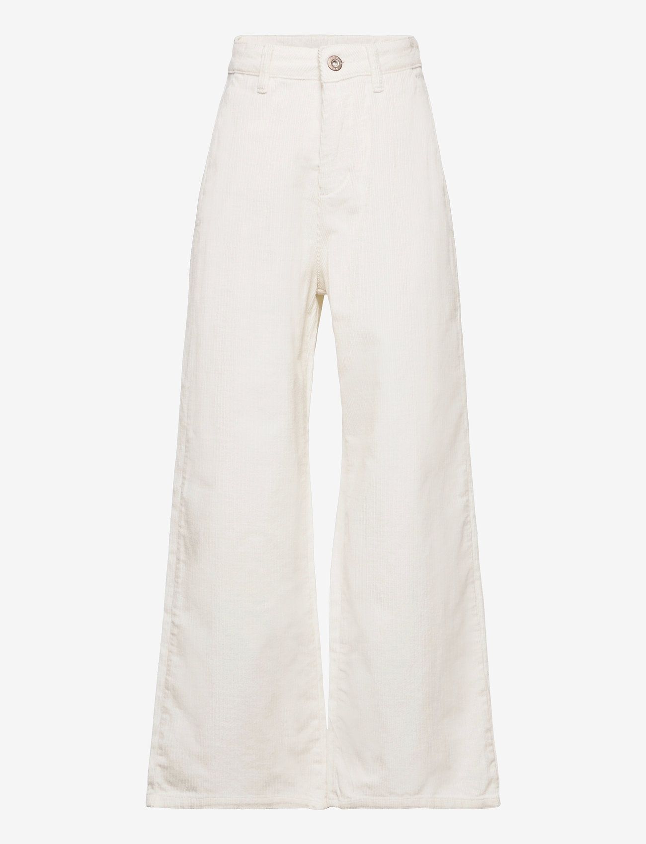 Grunt - Taylor Wide Cord. - trousers - broken white - 0