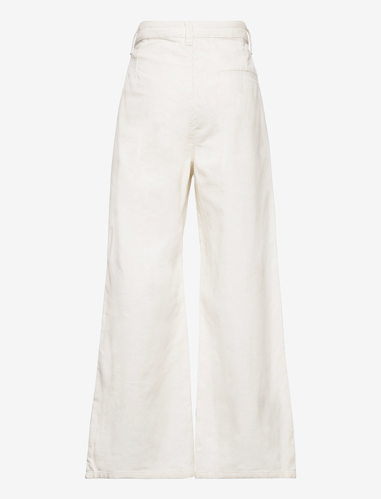 Grunt - Taylor Wide Cord. - trousers - broken white - 1