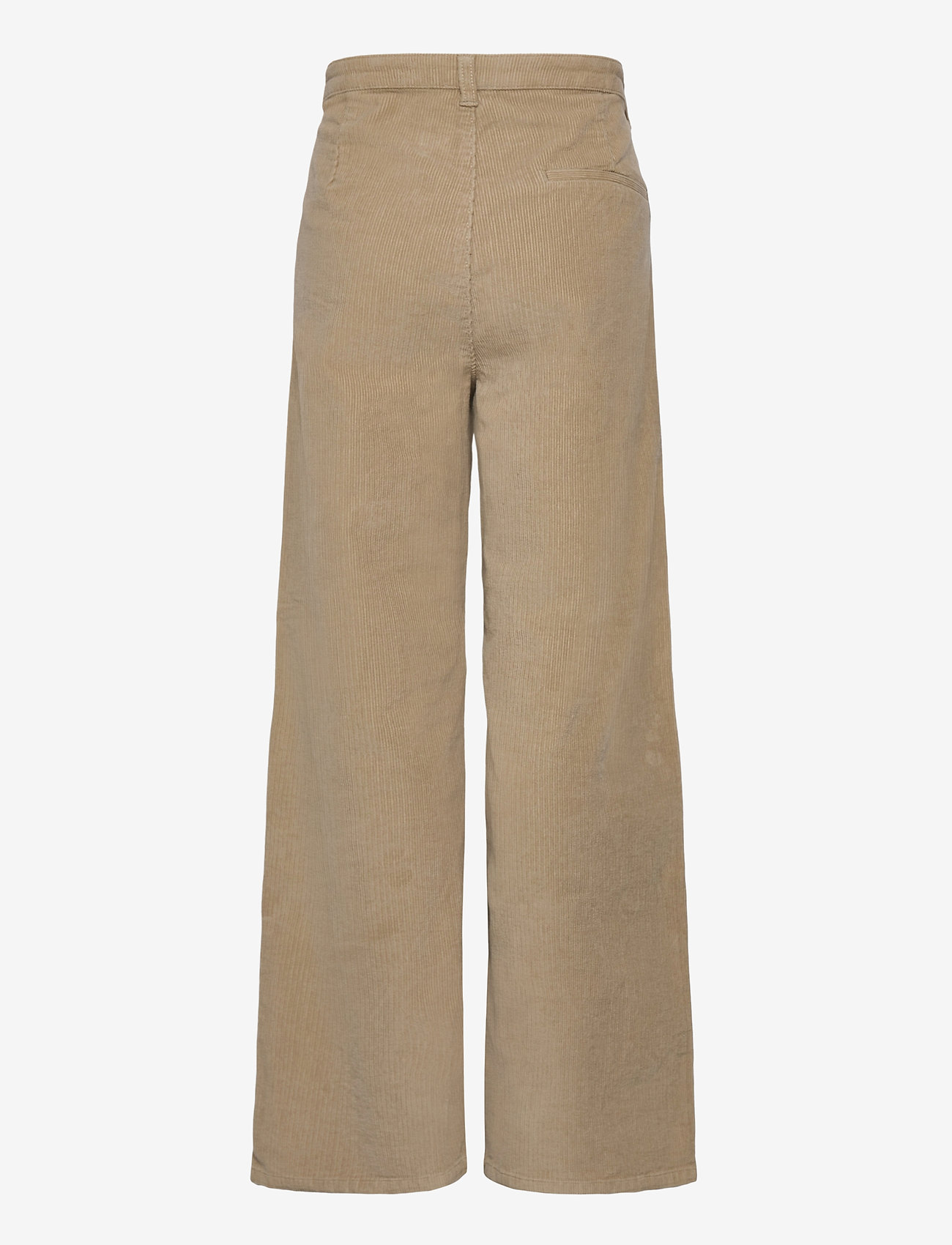 Grunt - Taylor Wide Cord. - trousers - dk. stone - 1