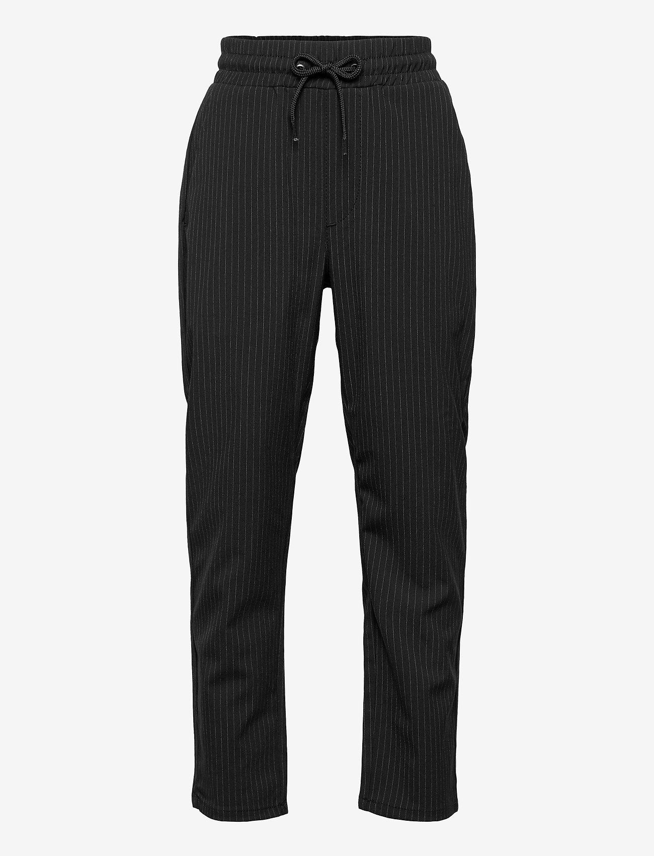 Grunt - Hack Ankle Stripe - trousers - black - 0
