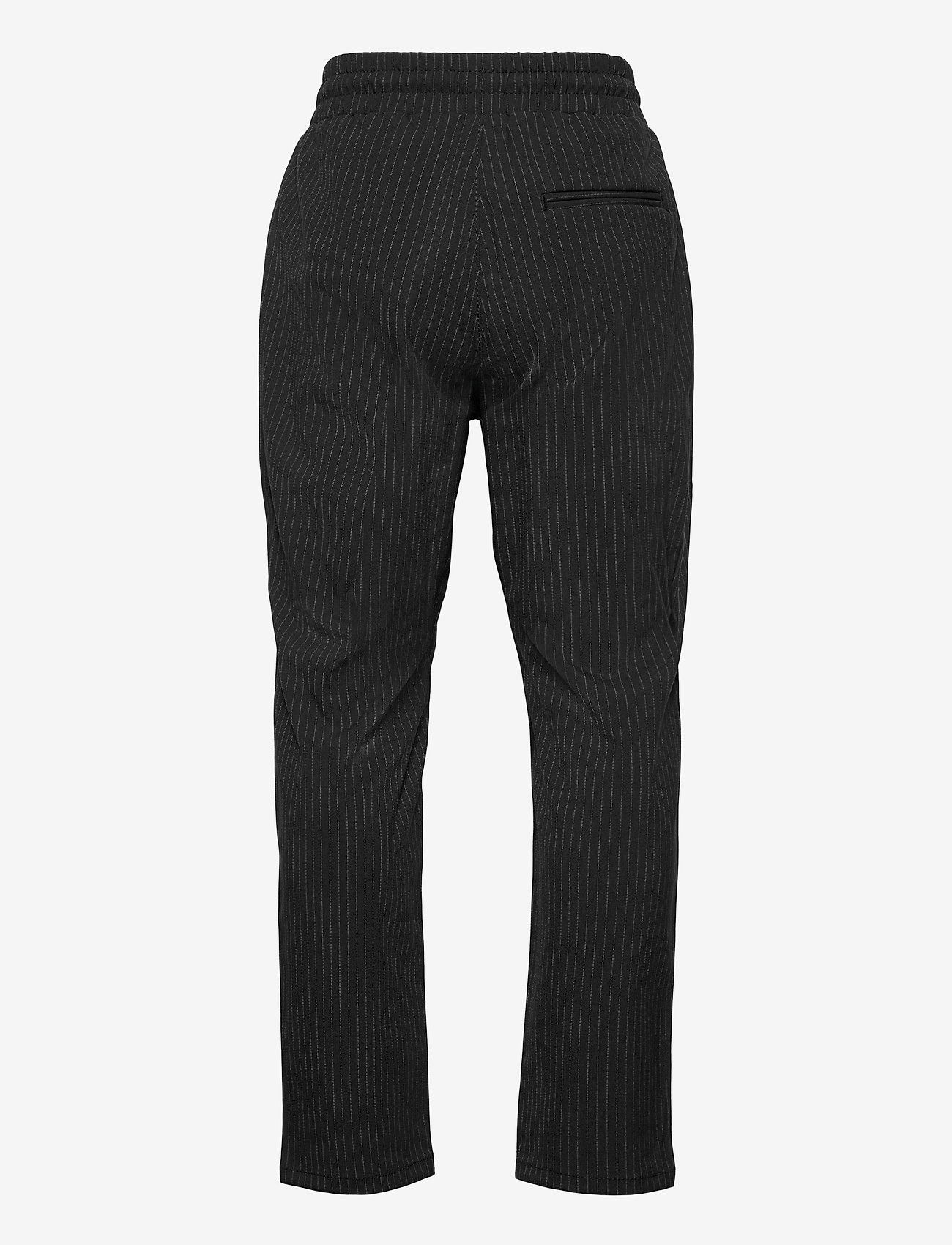 Grunt - Hack Ankle Stripe - trousers - black - 1