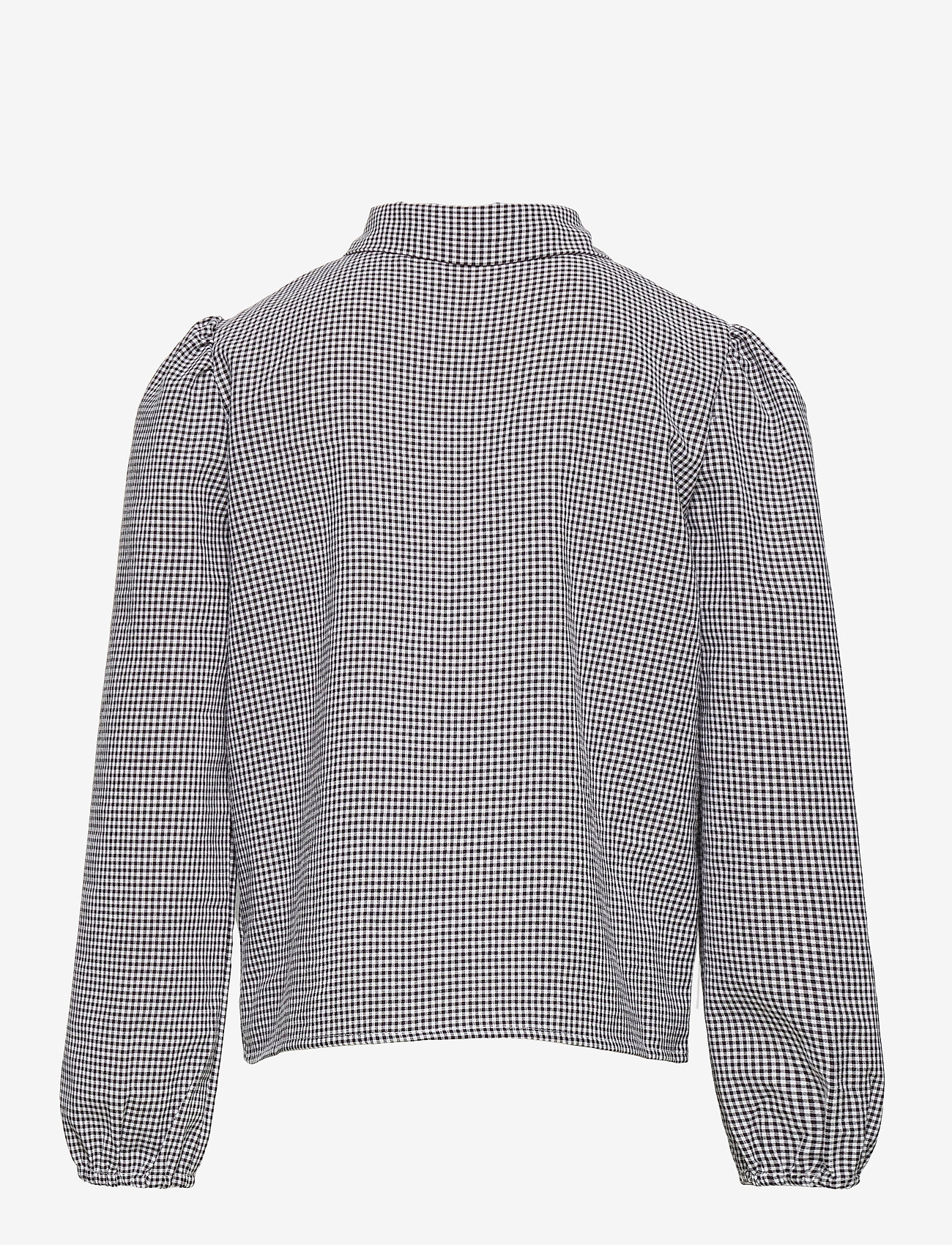 Grunt - Ora Check Shirt - shirts - black - 1