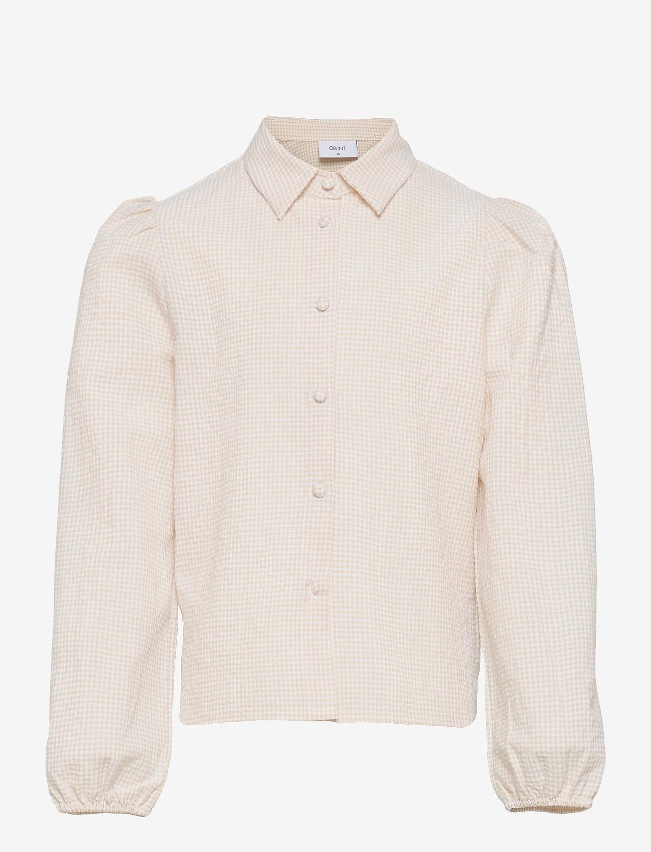 Grunt - Ora Check Shirt - shirts - nature - 0