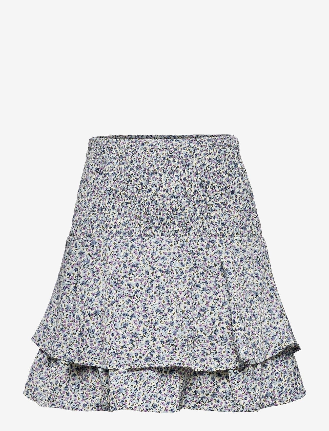 Grunt - Jeanette Skirt - röcke - light blue - 0