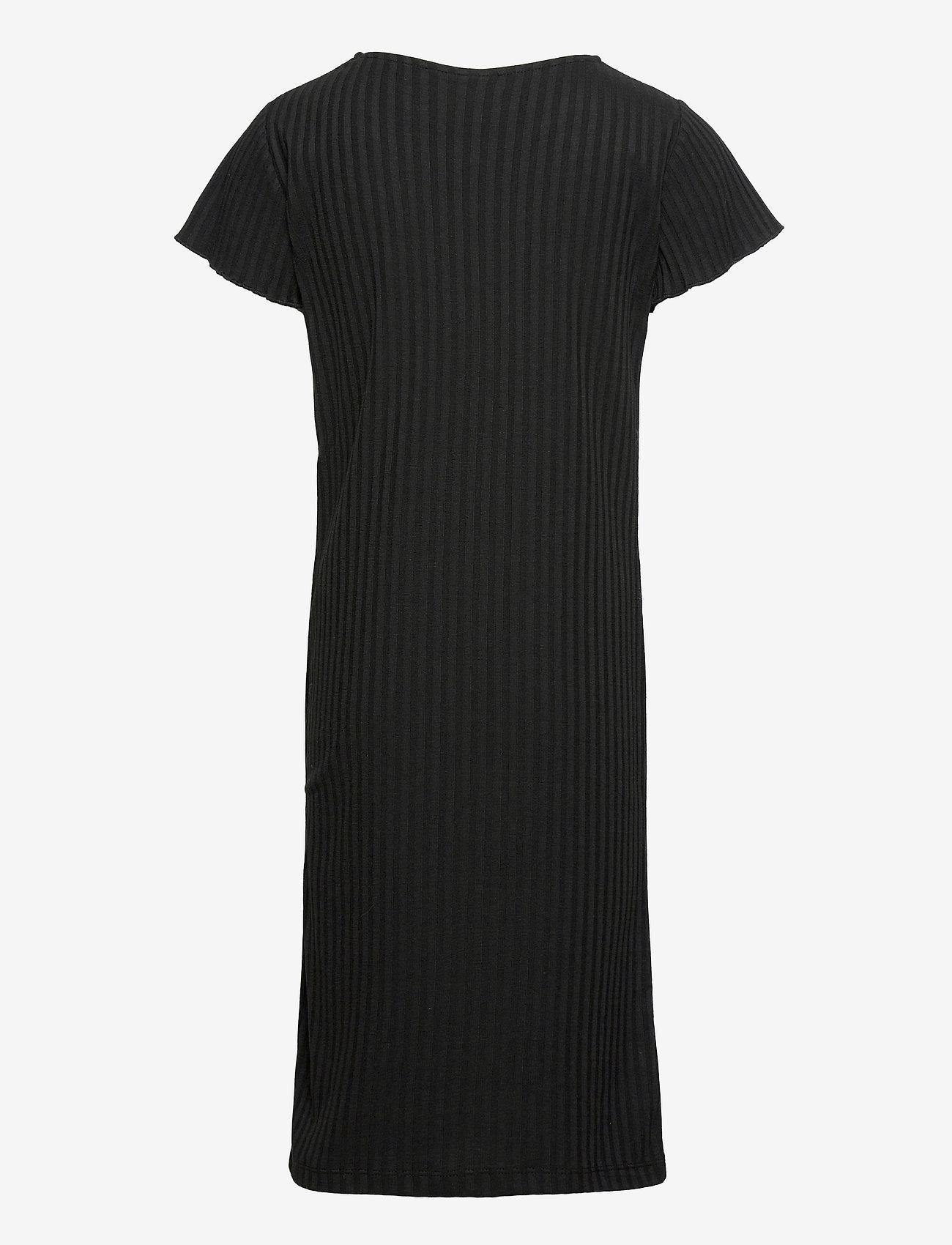Grunt - Hey Rib Dress - kleider - black - 1