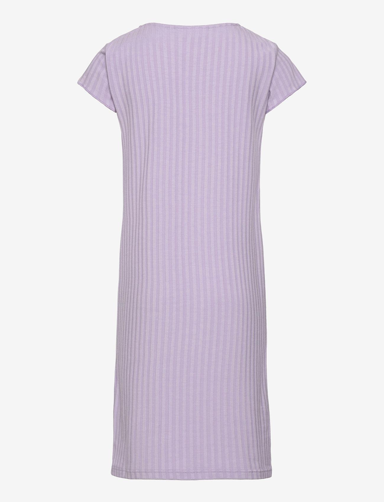 Grunt - Hey Rib Dress - kleider - light purple - 1