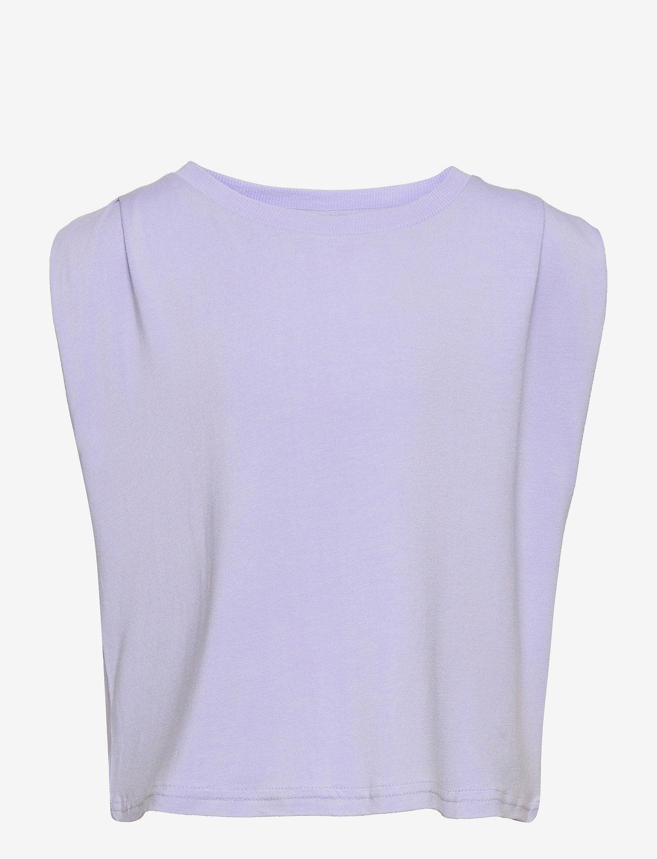 Grunt - Tonja Tee - kortærmede - light purple - 0