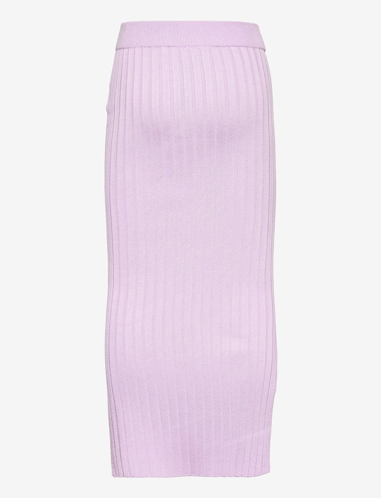 Grunt - Else Knit Skirt - röcke - light purple - 1