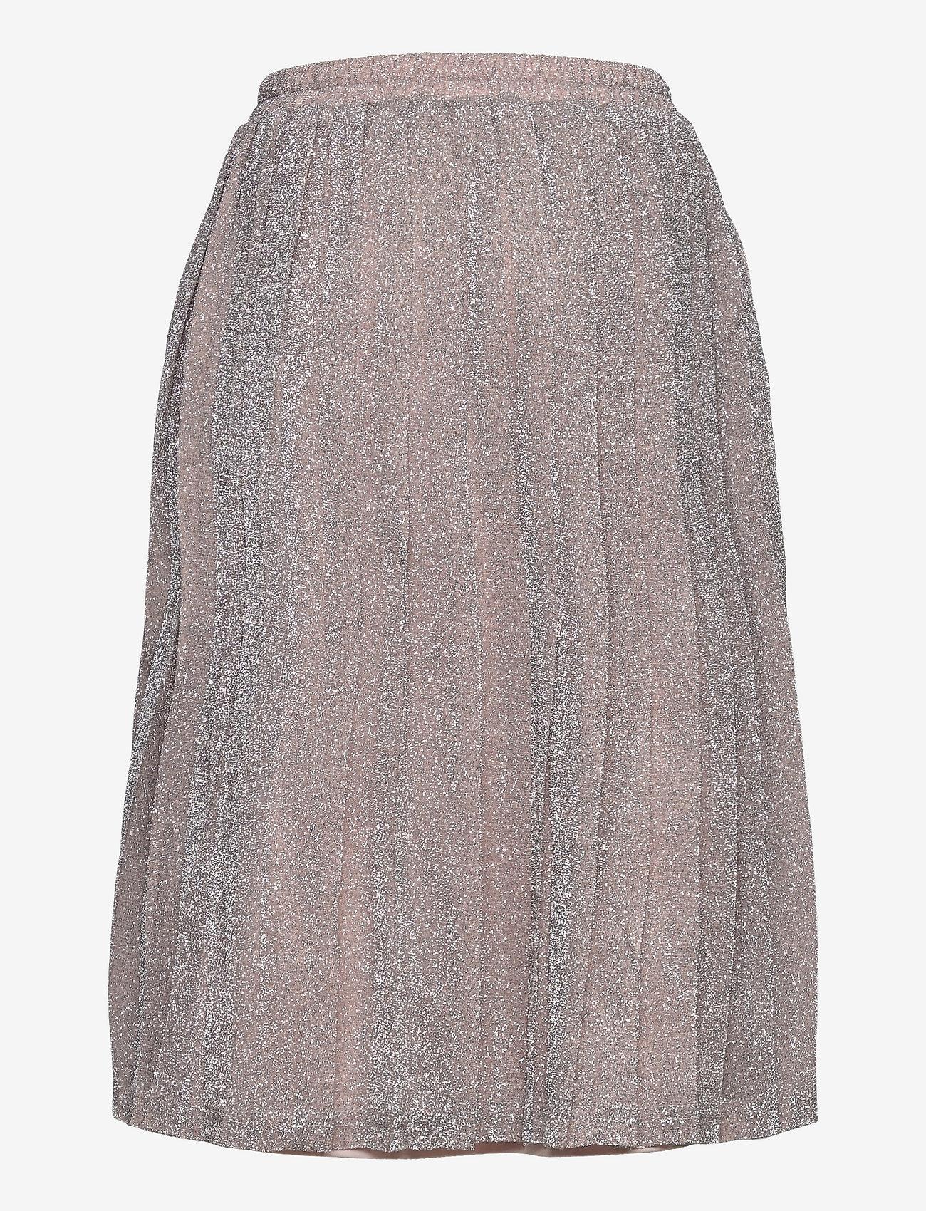 Grunt - Drew Plisse Skirt - röcke - silver - 1