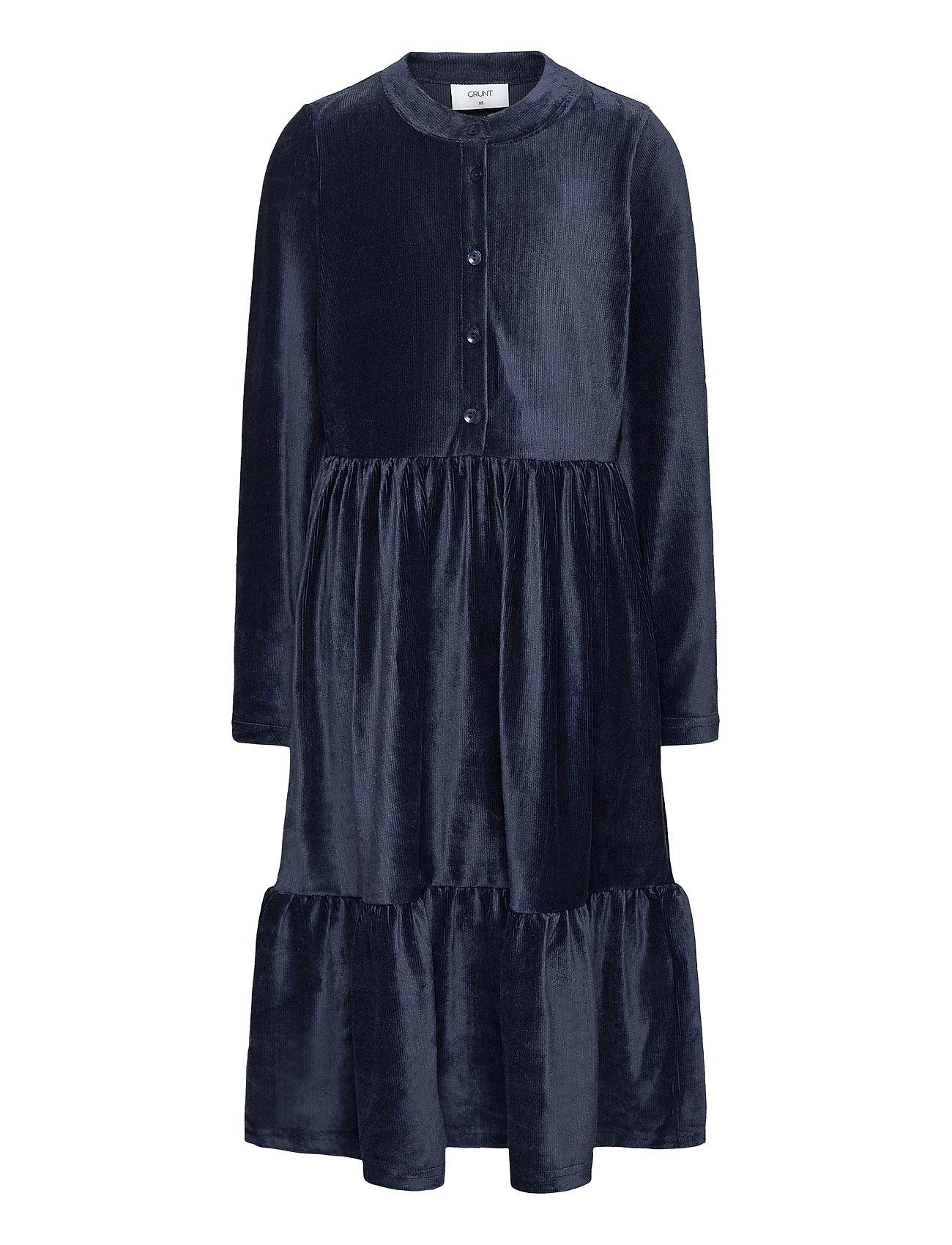 Image of Loui Dress Kjole Blå Grunt (3476117893)