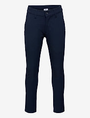 Grunt - Dude Ankle Pant - trousers - midnight blue - 0