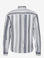 Grunt - Nedim Shirt - overhemden - white stripe - 1