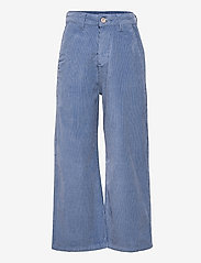 Grunt - Taylor Wide Cord. - trousers - storm blue - 0