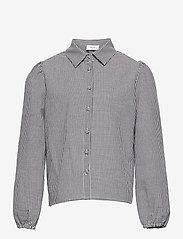 Grunt - Ora Check Shirt - shirts - black - 0