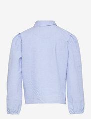 Grunt - Ora Check Shirt - shirts - light blue - 1